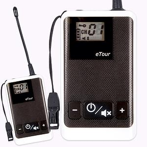Tour guide system Transmitter TG-100